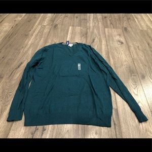 Old Navy V-Neck Sweater Size XL in Teal